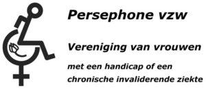 Persephone Logo met tulp en tekst